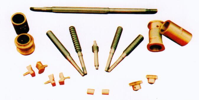 织布机铜瓦、拉丝机罗杆半开螺母、铜蜗轮
